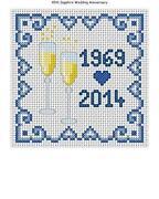 Anniversary Cross Stitch Kit
