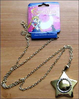 SAILOR MOON Usagi's Carillion Necklace Star Locket Officially Licensed Cosplay