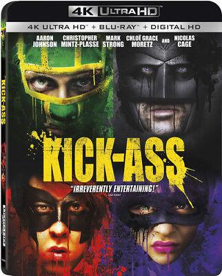 Kick-ass [New 4K UHD Blu-ray] With Blu-Ray, Widescreen, 2 Pack, Ac-3/Dolby Dig segunda mano  Embacar hacia Argentina