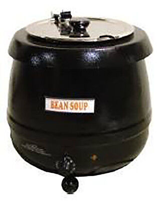 Omcan Fw-cn-0010 19073 Commercial Adjustable Heat 10 L Soup Kettle Food Warmer