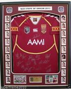 Signed QLD Jersey