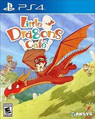 Little Dragons Cafe (PS4, 2018) Brand New Factory Sealed