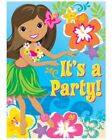 Luau/Beach Party Invitations