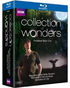 A Collection of Wonders of the Solar System, Universe, Life Blu ray Brian Cox RB