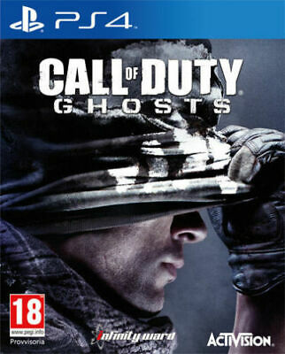 CALL OF DUTY GHOSTS PS4 GIOCO NUOVO SIGILLATO PAL ITALIANO SONY PLAYSTATION...