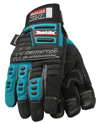 Makita 845048-A MForce2 Heavy Duty Padded Work Gloves  - SIZE 11 / XL