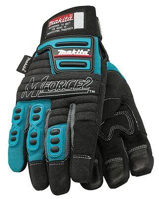 Makita 845048-A MForce2 Heavy Duty Padded Work Gloves  - SIZE 11 / XL