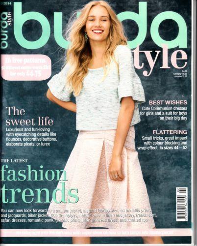 Burda Style Magazine Ebay