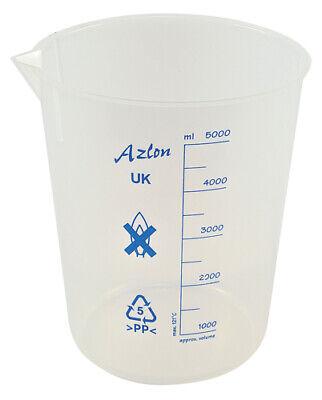 Plastic Beaker 5000ml Polypopylene