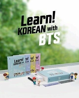 Learn! KOREAN with BTS Book Full Package