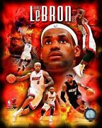 Lebron James Signed Poster