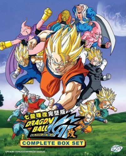 Dragon Ball Kai Complete Box Set DVD (Eps : 1 to 167 end) with English Audio