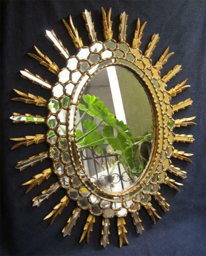 Sunburst Mirror Ebay