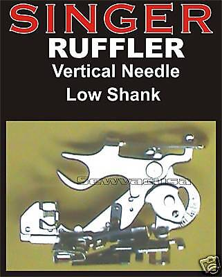 Singer Futura XL-420 XL-550 XL-580 5 Futura Quintet Ruffler Gather Pleater NEW