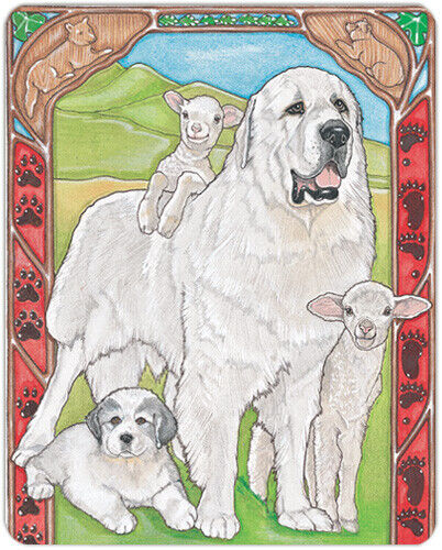 Great Pyrenees Small Cutting Board
