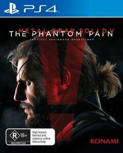Metal Gear Solid 5 V: The Phantom Pain PS4 Brand New & Sealed