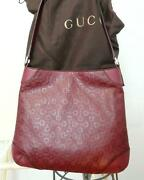 Gucci Red Leather Purse