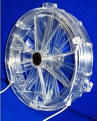 "Vent-a-matic Cord Operated Single Glazing Fan  5"" Inch Diameter Model 102"