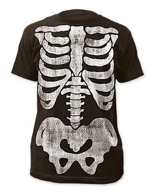 X-Ray Skeleton Front Print T-shirt - Brand New - Halloween
