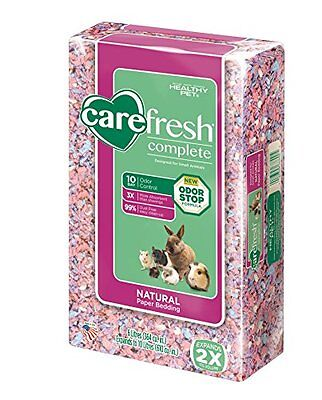 carefresh Complete Natural Paper Bedding Confetti Small Animal Pet Supplies New