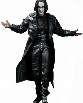 The Crow Halloween (STEAMPUNK GOTHIC THE CROW ERIC DRAVEN COAT MENS HALLOWEEN LONG COAT JACKET)