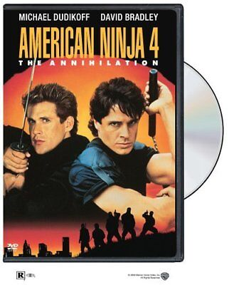 American Ninja 4 - The Annihilation [DVD] NEW!