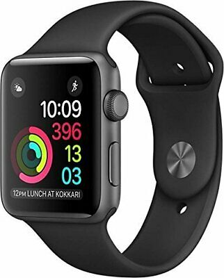 Apple Watch Series 1 42mm Smart Watch - Space Gray/Black  (MP032LL/A)