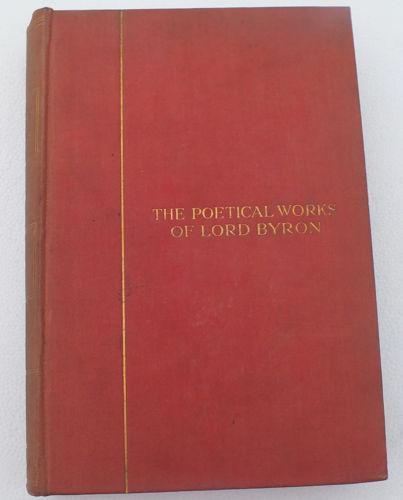 Poetical Works Lord Byron