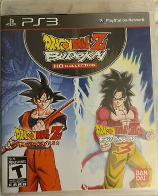 Dragon Ball Z: Budokai HD Collection (Sony PlayStation 3, 2012) PS3 Complete
