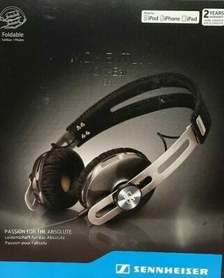 BRAND NEW Sennheiser Momentum 2.0 On-Ear Headphones (iOS) - Black...
