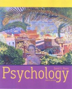 Psychology (Hardcover) with separate study guide book