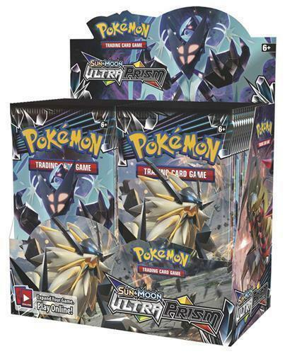 Купить Pokemon USA - POKEMON TCG SUN & MOON SM5 ULTRA PRISM BOOSTER SEALED BOX ENGLISH LIMITED QTY!