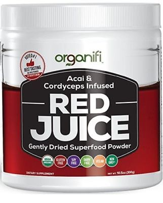 Organifi Organic Superfood Powder - Red Juice Super Food, EXP11/19 FREE SHIPPING