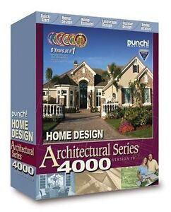 Home Design Software PUNCH Architectural Series 4000