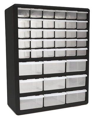 Homak Ha01039001 39-drawer Plastic Parts Organizer Storag...
