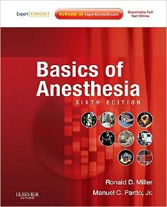 Respiratory Therapy - BASICS OF ANESTHESIA 6th Edition Textbook London Ontario image 1
