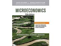Microeconomics 5th edition textbook