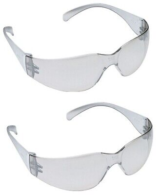 3M 11328 Virtua Anti-Fog Safety Glasses, Clear Temples, 2-PACK