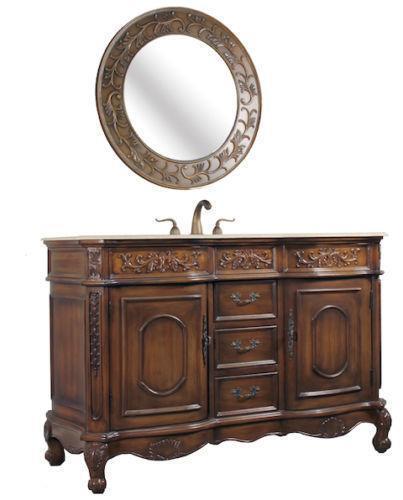 Bathroom vanity 54 ebay for 54 bathroom vanity cabinet