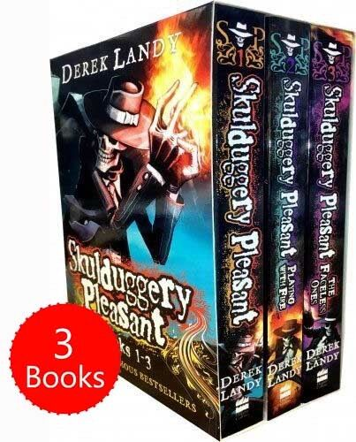 Skulduggery Pleasant Series 1 Collection Derek Landy 3 Books Box Set