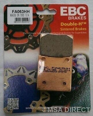 Suzuki GSF1200 Bandit (1996 to 2005) EBC Sintered REAR Brake Pads (FA63HH) 1 Set