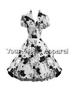 Floral Pinup Dress