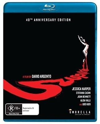 Suspiria [New Blu-ray] Australia - Import - New Halloween Movies 2017
