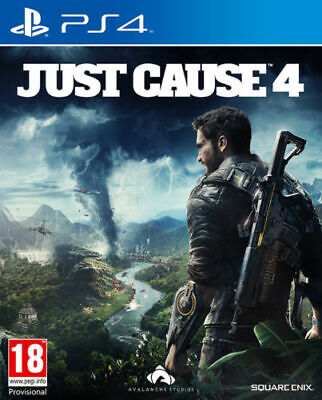 Just Cause 4 (PS4) - Brand New & Sealed - FREE DELIVERY