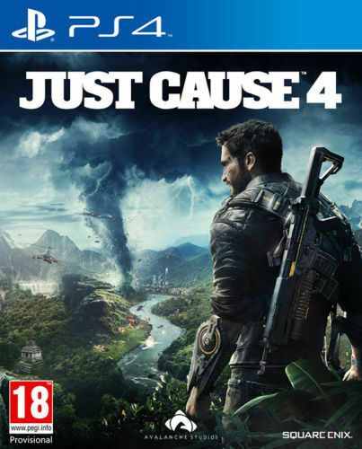 Just Cause 4 (PS4) - Brand New & Sealed Sony PlayStation 4 Game - FREE DELIVERY