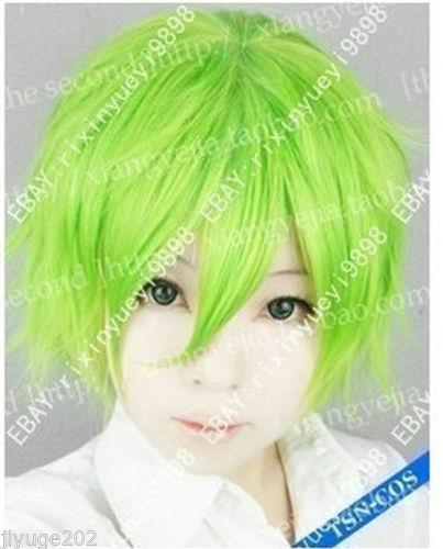 Green Wig Ebay