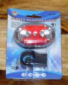 LED BIKE LIGHT RED SUPER BRIGHT LEDs REAR LIGHT KIT BNIP HY-208 9 LED 7 MODES.*