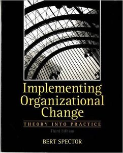 For Sale: Implementing Organizational Change Third Edition Oakville / Halton Region Toronto (GTA) image 1