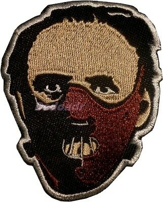 Hannibal Lecter Embroidered Patch Horror Movie Silence of the Lambs Red Dragon
