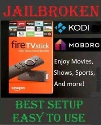 Amazon Fire TV Stick Media Streamer - Tv Addons 17.4 - Newest Version